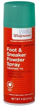 Walgreens Odor Control Powder Spray