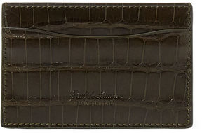 Ralph Lauren Polished Alligator Card Case