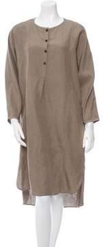 Creatures of Comfort Silk & Linen-Blend Dress w/ Tags