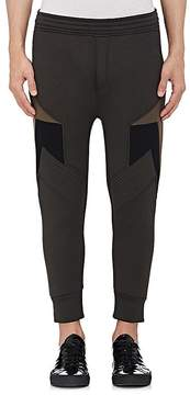 Neil Barrett Men's Neoprene Skinny Jogger Pants