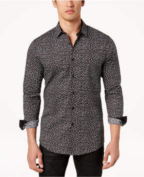 INC International Concepts I.n.c. Men's Floral Disty-Print Shirt, Created for Macy's
