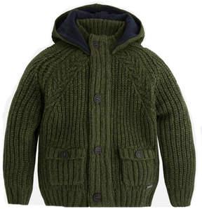 Mayoral Knit-Cardigan W/hood