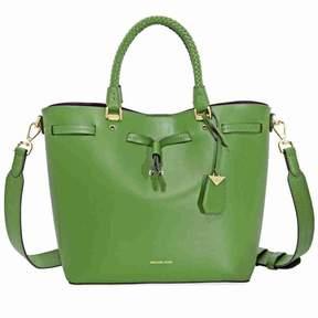Michael Kors Blakely Medium Bucket Bag- True Green - ONE COLOR - STYLE