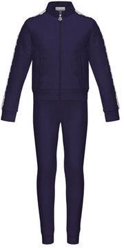 Moncler Terri Lace-Trim Jacket w/ Joggers, Size 8-14