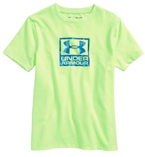 Under Armour Boy's Duo Logo T-Shirt