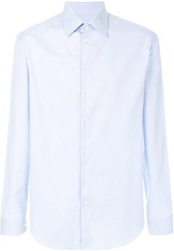 Armani Collezioni slim stretch shirt