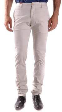Altea Men's White Cotton Pants.