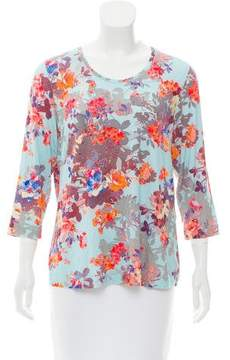 Basler Printed Knit Top w/ Tags