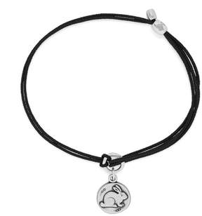 Alex and Ani Bunny Pull Cord Bracelet