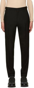 Juun.J Black Wool Trousers