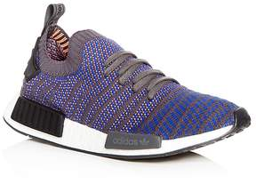 adidas Men's NMD R1 Knit Lace Up Sneakers