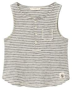 MANGO Organic cotton striped top