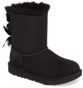 UGG Girl's Bailey Bow Ii Water Resistant Genuine Shearling Boot