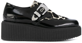McQ buckled creepers