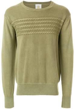 Gant cable knit detail jumper