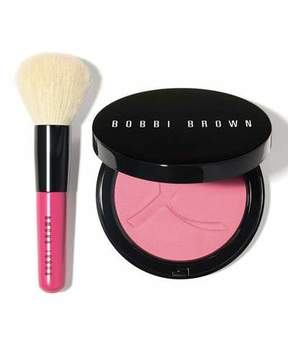 Bobbi Brown Limited Edition Illuminating Bronzing Powder and Mini Face Blender Brush
