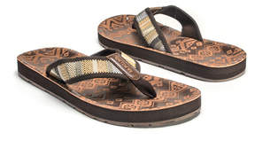 Muk Luks Brown Silas Sandal - Men