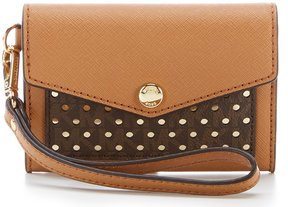 MICHAEL Michael Kors Honey Medium Card Holder - ACORN/BROWN - STYLE
