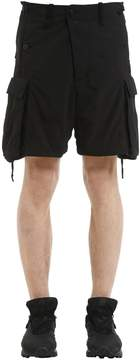11 By Boris Bidjan Saberi Nylon Blend Cargo Shorts
