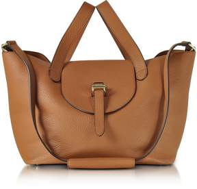 Meli-Melo Tan Coimbra Leather Thela Medium Tote Bag
