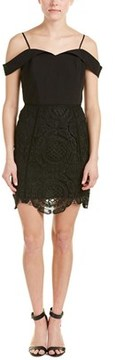 Adelyn Rae Cold-shoulder Sheath Dress.