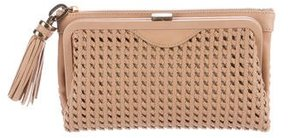 Derek Lam Woven Leather Clutch