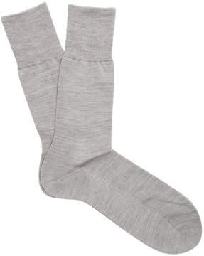 Falke N°6 wool and silk-blend socks