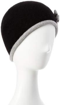 Portolano Black Cashmere Hat