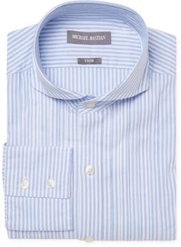 Michael Bastian Gray Label Men's Trim Fit Striped Dress Shirt