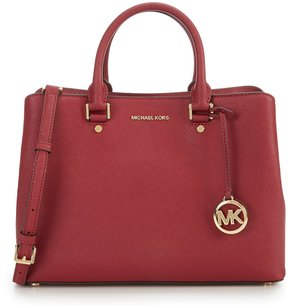 MICHAEL Michael Kors Savannah Large Satchel - MULBERRY - STYLE
