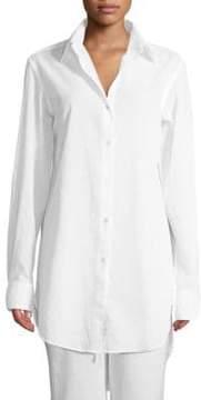 Commando Oversize Cotton Voile Shirt
