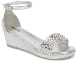 MICHAEL Michael Kors Cate Embellished Wedge Sandal