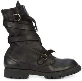 Guidi strappy ankle boots