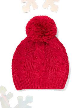 New York & Co. Faux-Pearl Pom-Pom Hat