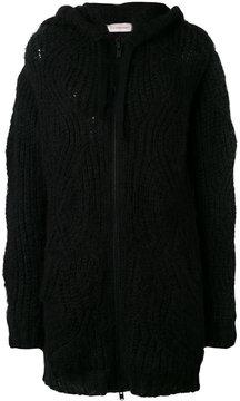 A.F.Vandevorst chunky knit cardigan coat