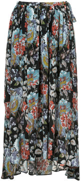 ESTNATION high-waisted floral skirt