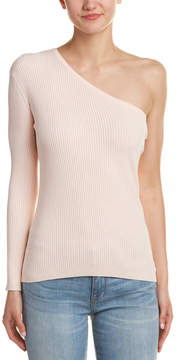 Central Park West One-Shoulder Sweater