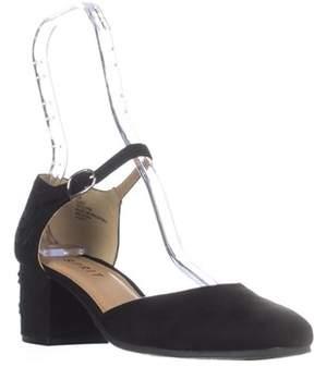 Esprit Ellen Ankle-strap Heels, Black.
