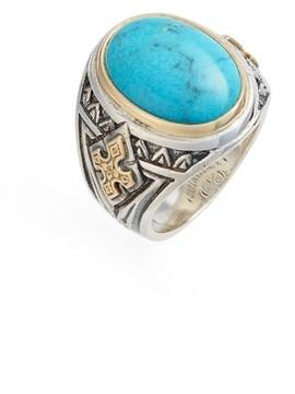 Konstantino Men's Heonos Turquoise Ring