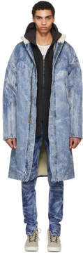 Fear Of God Indigo Selvedge Denim Holy Water Coat