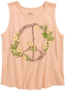 O'Neill Toddler Girl's Pax Wreath Graphic Tank