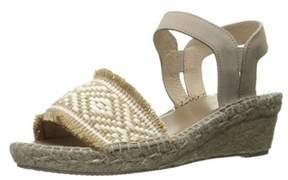 Andre Assous Womens Dana Suede Open Toe Casual Espadrille Sandals.