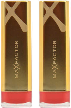 Max Factor English Rose Colour Elixir Lipstick - Set of Two