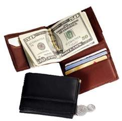 Royce Leather Unisex Men's Money Clip Wallet 114-5.