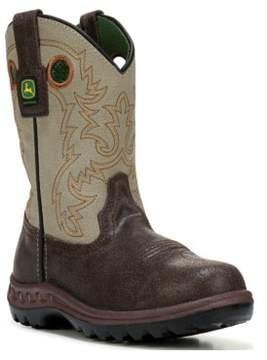 John Deere Kids' Johnny Popper 8 Cowboy Boot Toddler/Preschool