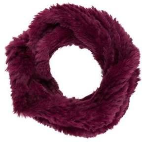 Adrienne Landau Knit Fur Infinity Scarf w/ Tags