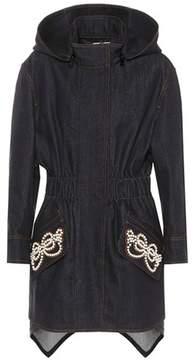 Fendi Embellished denim coat