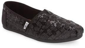 Toms Classic Sequin Glitz Slip-On Shoe