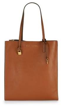 Marc Jacobs Leather Tote - SADDLE - STYLE