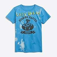 J.Crew Factory Boys' short-sleeve lazy days graphic T-shirt